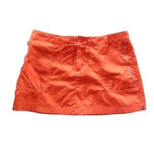 Nautica nylon sport skirt zipper pockets